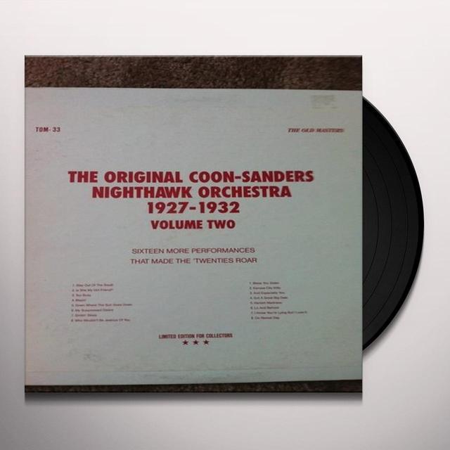 Coon-Sanders Original Nighthawk Orchestra 2: 1927-1932 (Vinyl)