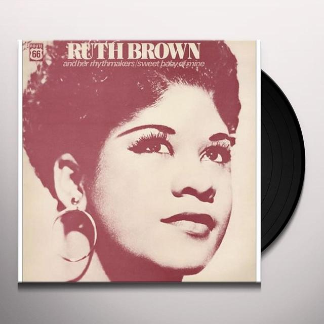 RUTH BROWN & HER RHYTHMAKERS: SWEET BABY OF MINE Vinyl Record