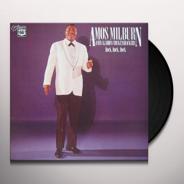 Amos Milburn HIS ALADDIN CHICKEN SHACKERS: 1947-1957 Vinyl Record