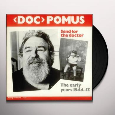 Doc Pomus SEND FOR THE DOCTOR Vinyl Record
