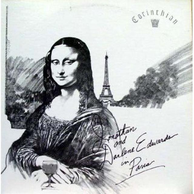 Jonathan Edwards & Darlene JONATHAN & DARLENE IN PARIS (Vinyl)