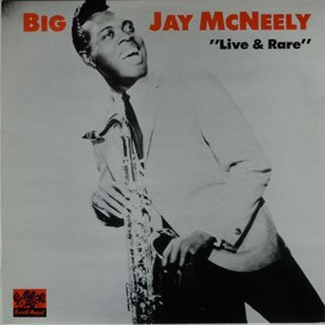 Big Jay Mcneely LIVE & RARE Vinyl Record