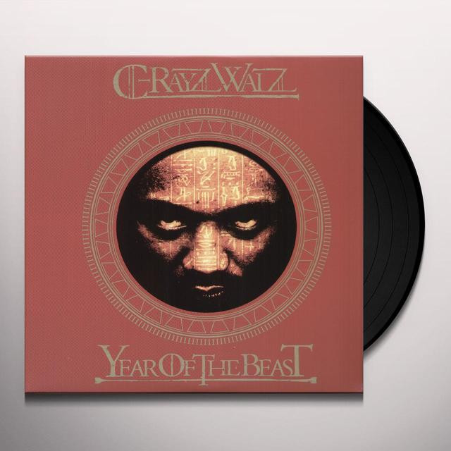 C-Rayz Walz YEAR OF THE BEAST Vinyl Record