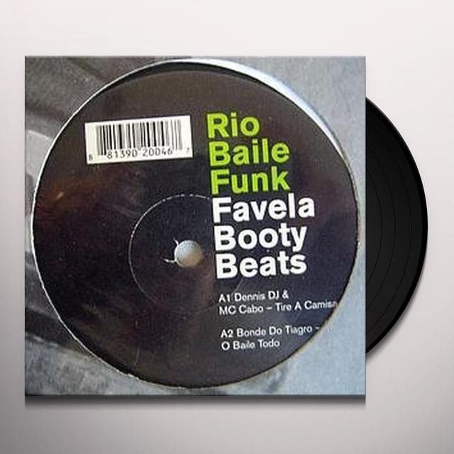 RIO BAILE FUNK: FAVELA BOOTY BEATS / VARIOUS (EP) Vinyl Record