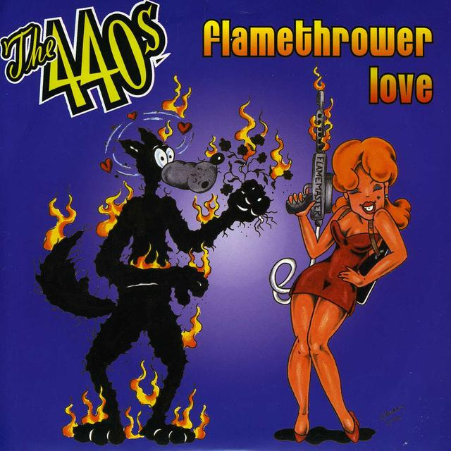 440's FLAMETHROWER LOVE Vinyl Record