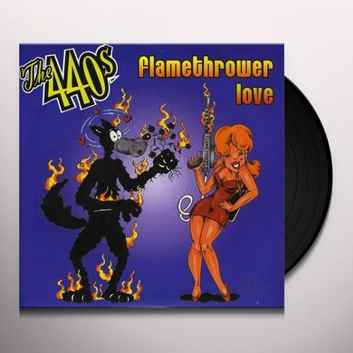 440's FLAMETHROWER LOVE Vinyl Record