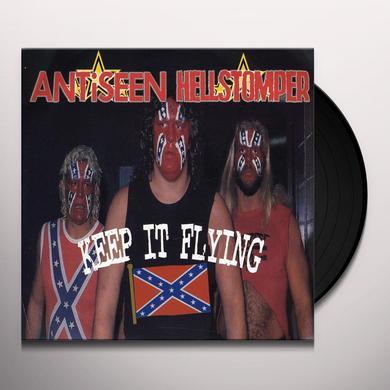 Antiseen / Hellstomper HELLSTOMPER / WHITE LINE FEVER Vinyl Record