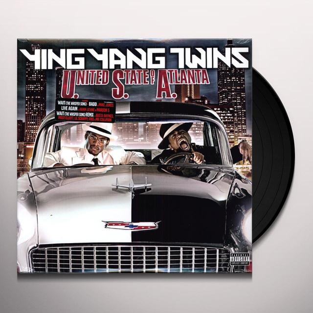 Ying Yang Twins USA ( UNITED STATE OF ATLANTA ) Vinyl Record
