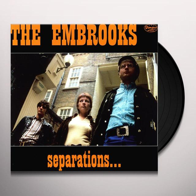 Embrooks SEPARATIONS Vinyl Record