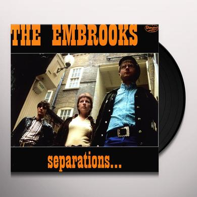 Embrooks SEPARATIONS Vinyl Record