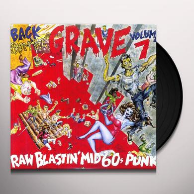 BACK FROM THE GRAVE 7 / VARIOUS BACK FROM THE GRAVE 7 Vinyl Record