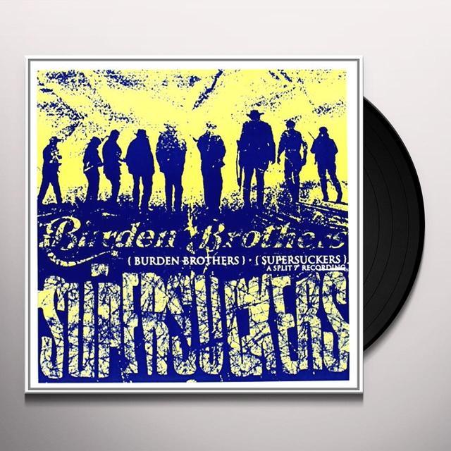 Burden Brothers / Supersuckers SPLIT Vinyl Record