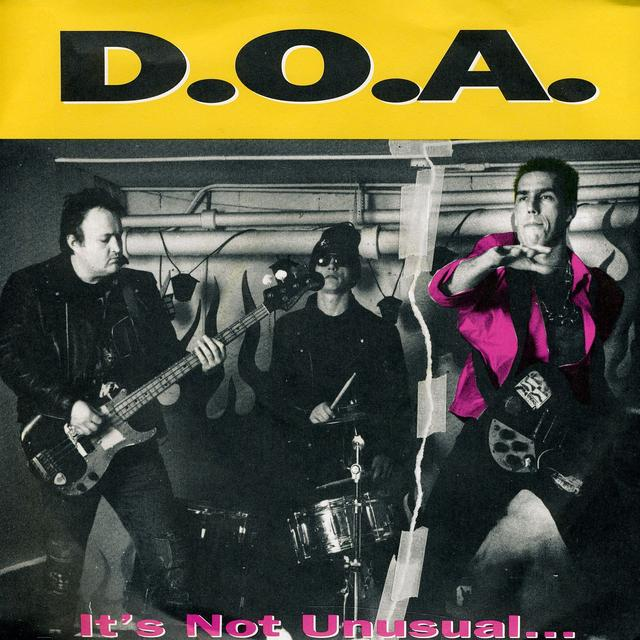 Doa IT'S NOT UNUSUAL Vinyl Record