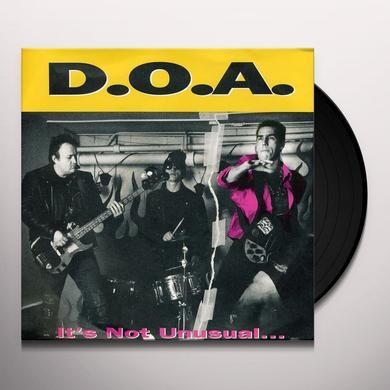 Doa IT'S NOT UNUSUAL Vinyl Record