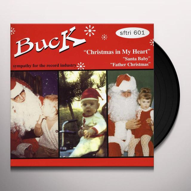 Buck CHRISTMAS IN MY HEART / SANTA BABY / FATHER Vinyl Record