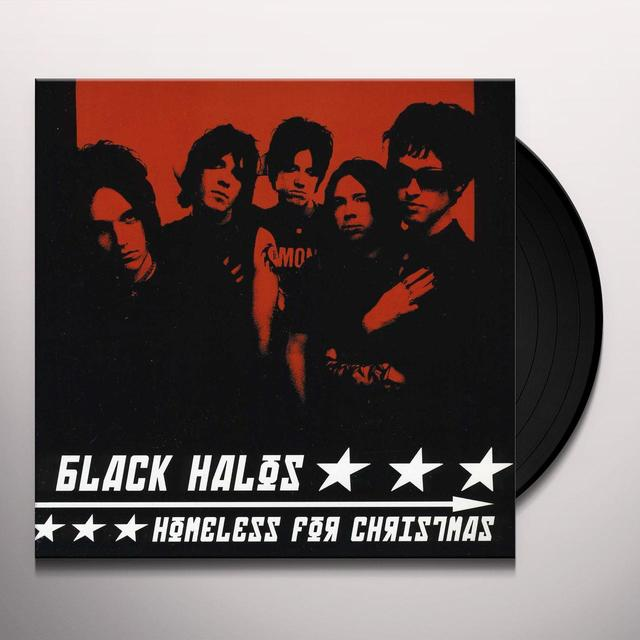 Tuuli / Black Halos HOMELESS FOR CHRISTMAS Vinyl Record