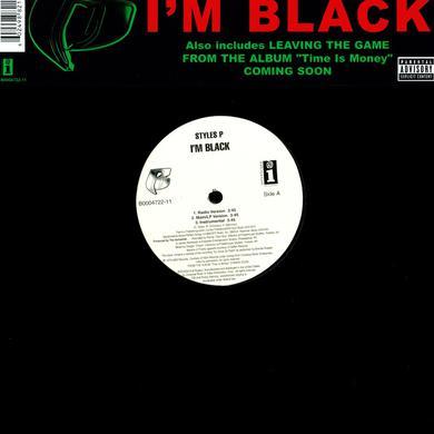 Styles P I'M BLACK Vinyl Record