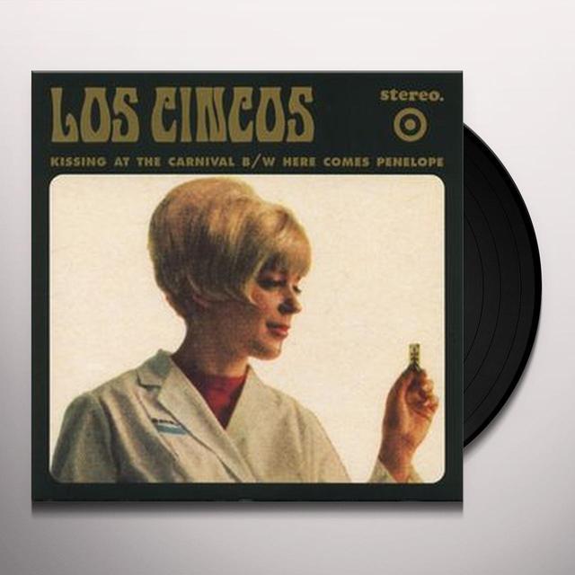 Los Cincos KISSING AT THE CARNIVAL (EP) Vinyl Record