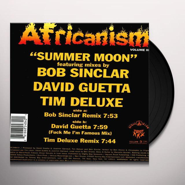 Africanism All Stars SUMMER MOON Vinyl Record