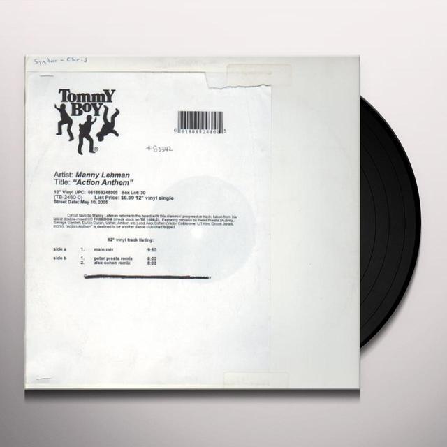 Manny Lehman ACTION ANTHEM Vinyl Record