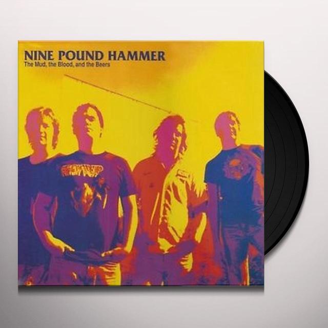 Nine Pound Hammer MUD BLOOD & THE BEERS Vinyl Record