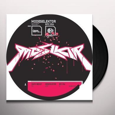Modeselektor DEATH MEDLEY (EP) Vinyl Record
