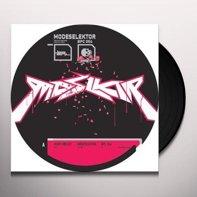 Modeselektor DEATH MEDLEY Vinyl Record