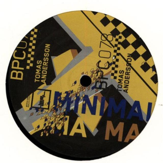 Tomas Andersson MINIMAL MAMA Vinyl Record