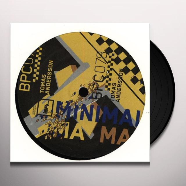 Tomas Andersson MINIMAL MAMA (EP) Vinyl Record