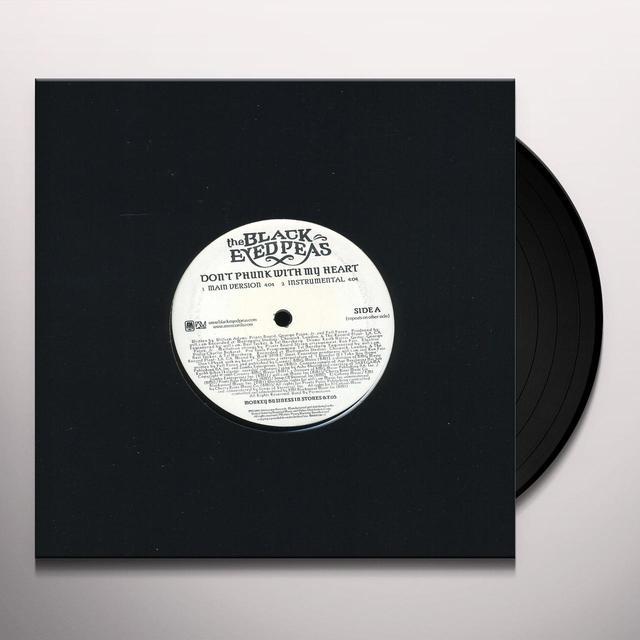 The Black Eyed Peas DON'T PHUNK Vinyl Record