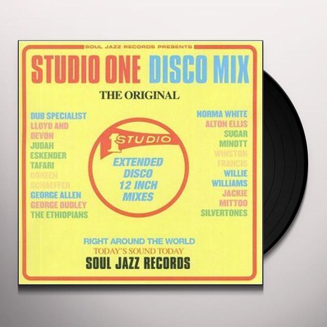 Soul Jazz Records Presents STUDIO ONE DISCO MIX Vinyl Record - Deluxe Edition