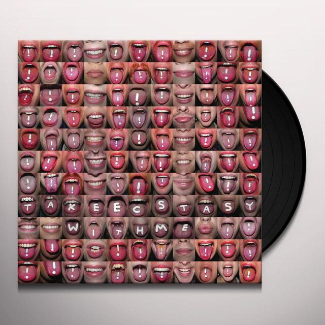 !!! TAKE ECSTACY WITH ME / GET UP Vinyl Record