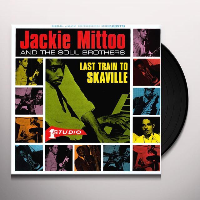 Jackie Mittoo LAST TRAIN TO SKAVILLE Vinyl Record