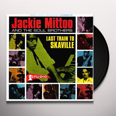 Jackie Mittoo LAST TRAIN TO SKAVILLE Vinyl Record