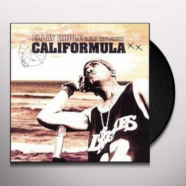 Ellay Aka Rifleman Khule CALIFORMULA Vinyl Record