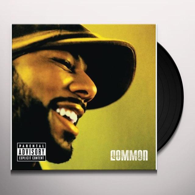 Common BE Vinyl Record