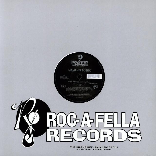 Memphis Bleek INFATUATED (X4) Vinyl Record