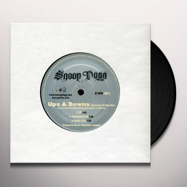 Snoop Dogg UPS & DOWNS Vinyl Record