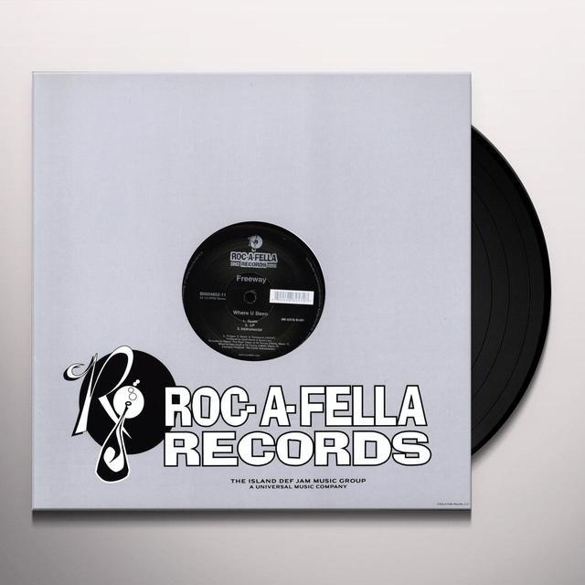 Freeway WHERE U BEEN (X3) Vinyl Record
