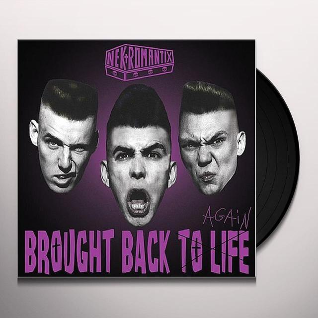 Nekromantix BROUGHT BACK TO LIFE Vinyl Record