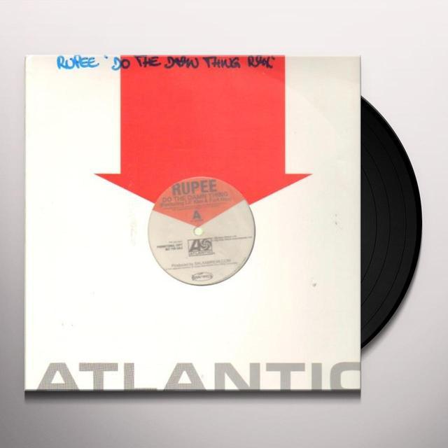 Rupee DO THE DAMN THING Vinyl Record
