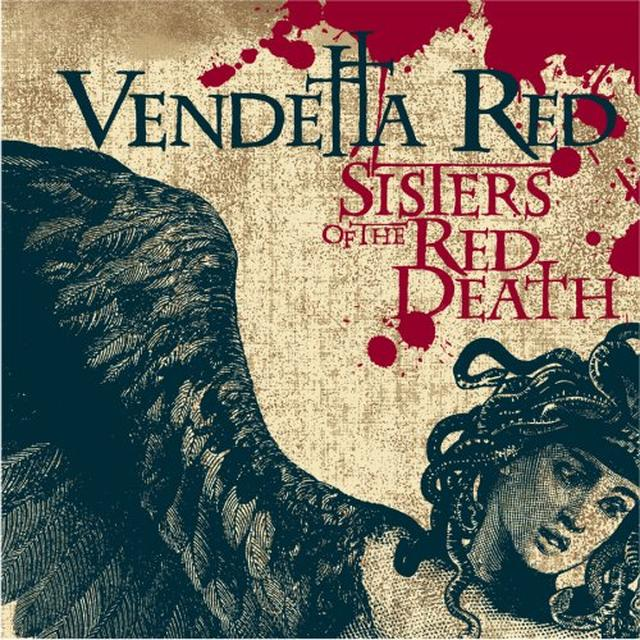 Vendetta Red SISTERS OF THE RED DEATH (BONUS TRACK) Vinyl Record