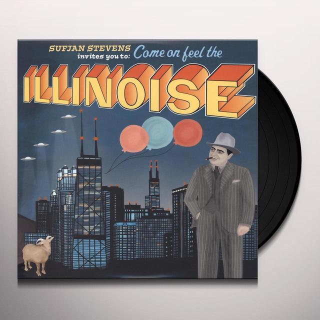 Sufjan Stevens ILLINOIS Vinyl Record