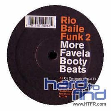 RIO BAILLE FUNK: FAVELA BOOTY BEATS 2 / VARIOUS Vinyl Record