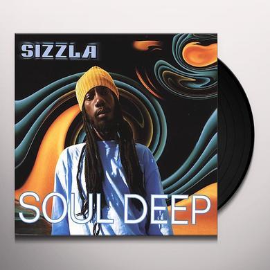 Sizzla SOUL DEEP Vinyl Record