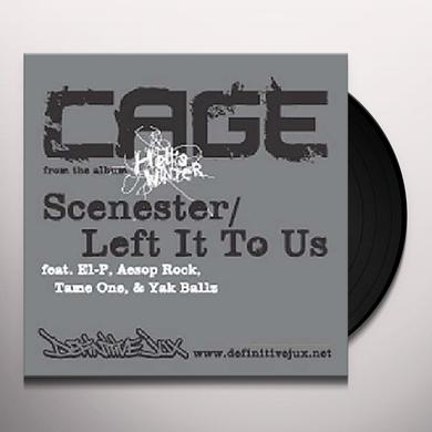 Cage SCENESTER (X3) / LEFT IT TO US (X3) Vinyl Record
