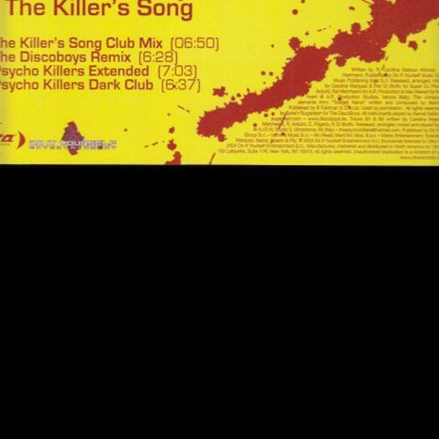 Carolina Marquez KILLERS SONG Vinyl Record