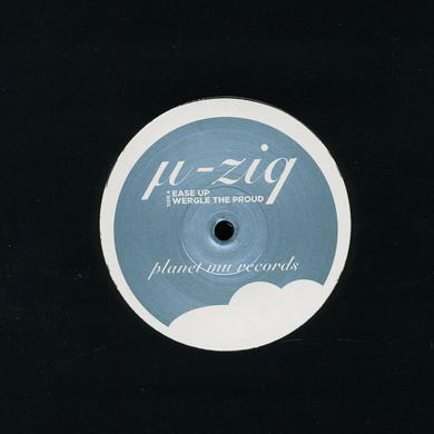 µ-Ziq EASE UP Vinyl Record