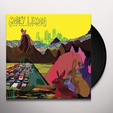 Modey Lemon CURIOUS CITY Vinyl Record