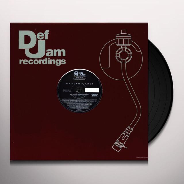 Mariah Carey WE BELONG TOGETHER REMIX (X4) Vinyl Record